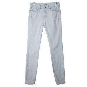 Madewell super light acid wash skinny jeans 27